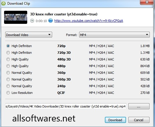 4K Video Downloader 4.4.10 Crack + Torrent Free Download