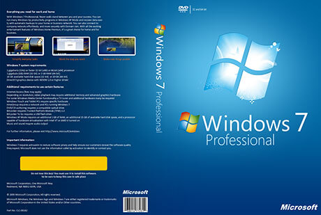 Windows 7 Professional Activator Free Download for 32 bit & 64 bit