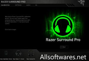 Razer Surround Pro 7.2 Crack + Activation Key Full Version [Latest]