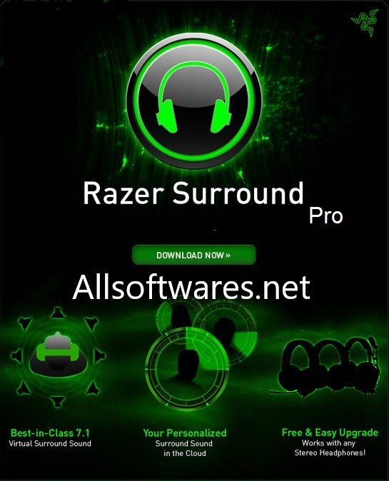 Razer Surround Pro Crack & Activation Key Full Version [Latest]
