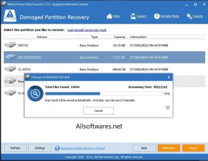 MiniTool Power Data Recovery 8.8 Crack + Serial Key Download