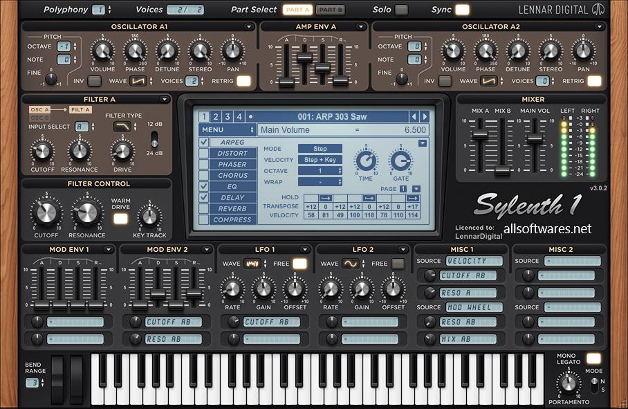 Sylenth1 3.067 Crack + Keygen Full Free Download 2020