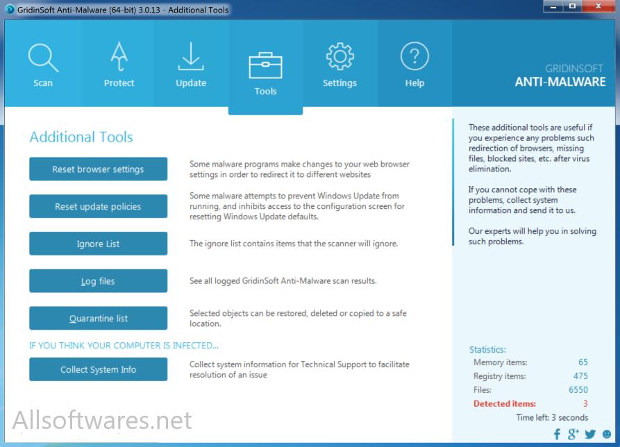 GridinSoft Anti-Malware 4.1.49 Crack + Keygen Free Download