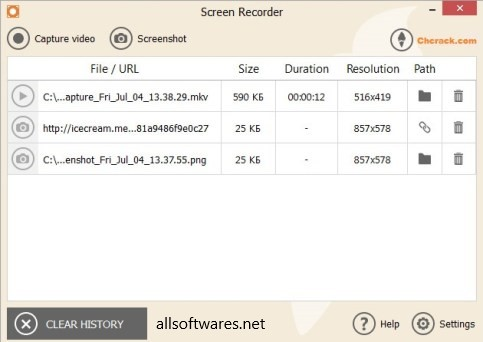 IceCream Screen Recorder Pro 5.92 Crack With Full Key 2019