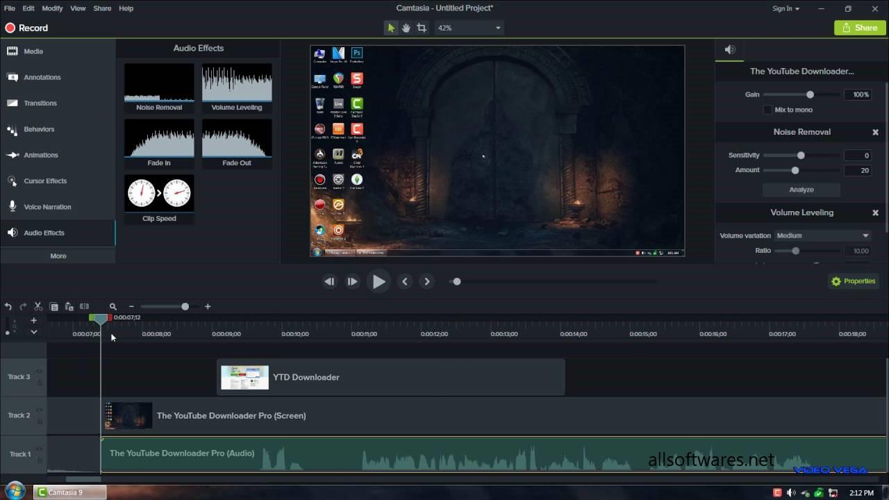 camtasia studio 8 video editor