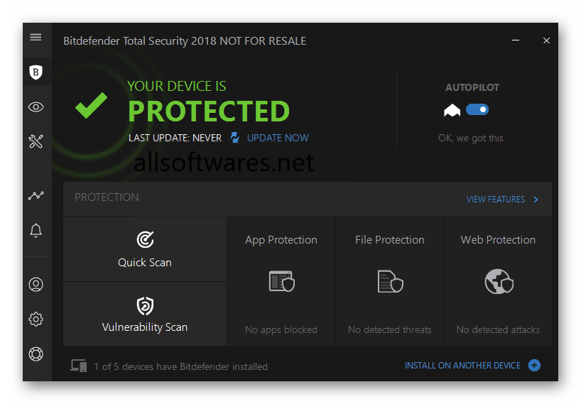 Bitdefender Total Security 2019 Crack + License Key Download