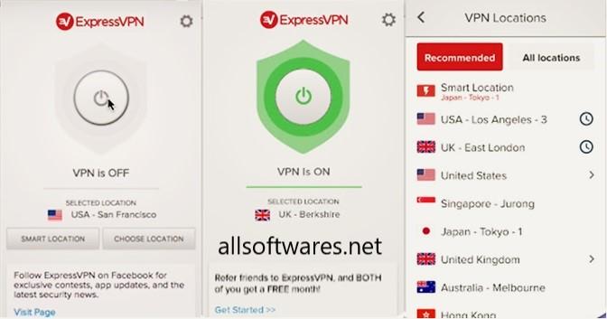 ExpressVPN 7.7.11 Crack + Activation Code Free Download 2020