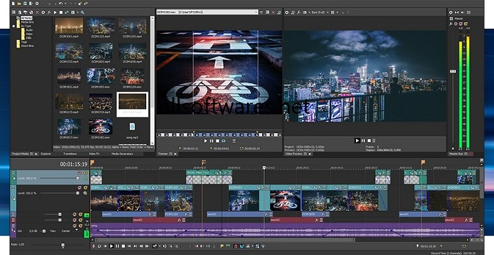 Sony Vegas Pro 16 Crack + Full Keygen [Suite + Edit] Download 2018