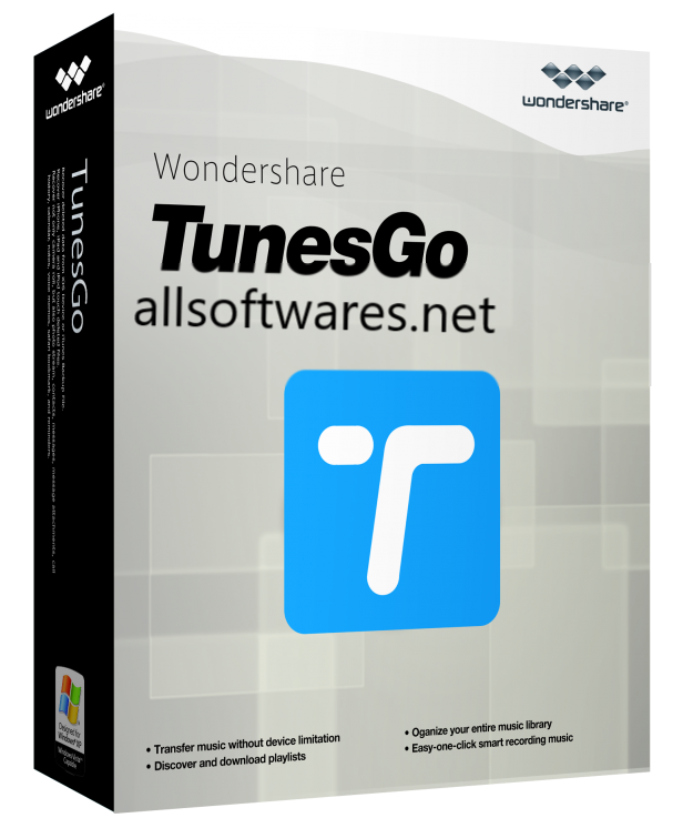 Wondershare TunesGo 9.8.3 Crack + Registration Code 2020 [Latest]