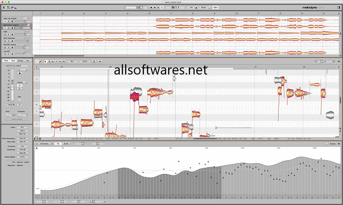 Melodyne 4 Crack [Mac + Windows] Free Download [Latest]
