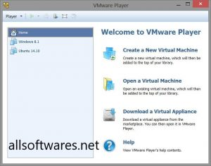 VMware Player 15.5.6 Crack + License Key Is Here