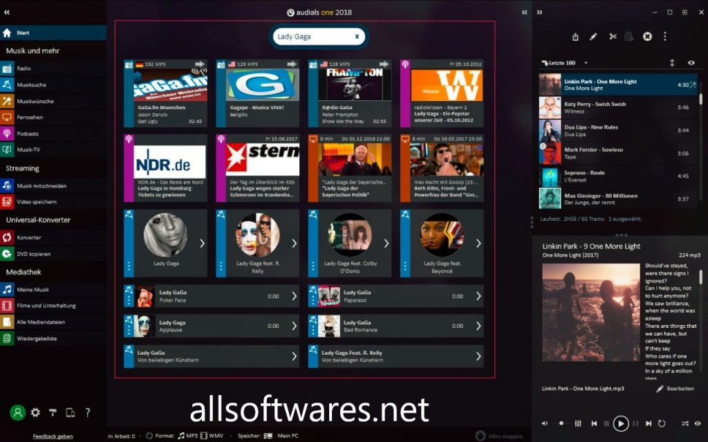 Audials One 2020.2.37.0 Crack + Working key Free Download