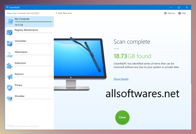 CleanMyPC 1.10.6 Crack + Activation Code Free Download