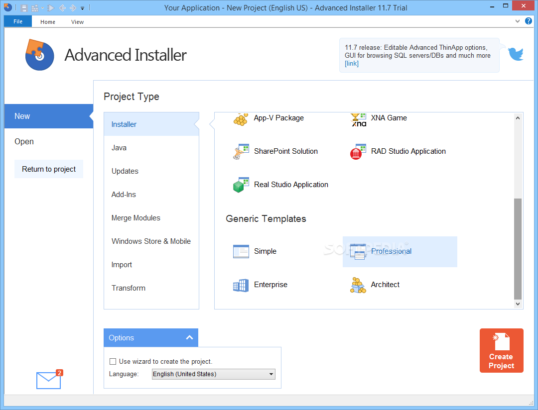 Advanced Installer 15.7 Crack + License Key Free Download 2019