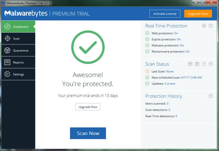 Malwarebytes Anti-Malware 4.1.1.167 Crack + License Key 2020