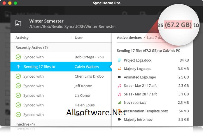 Resilio Sync 2.7.1 Crack + License Key Free Download