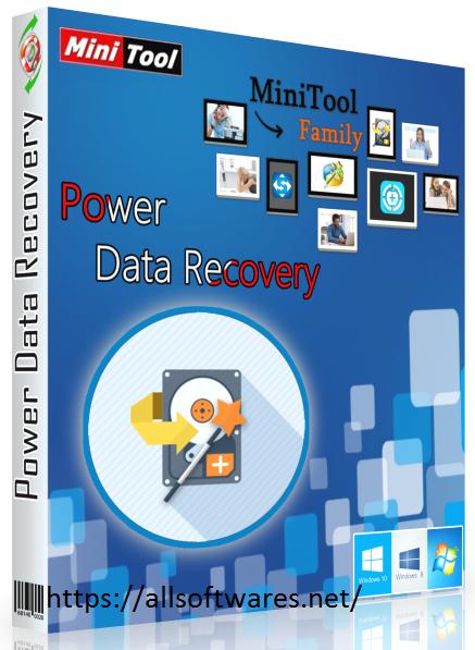 MiniTool Power Data Recovery 8.8 Crack